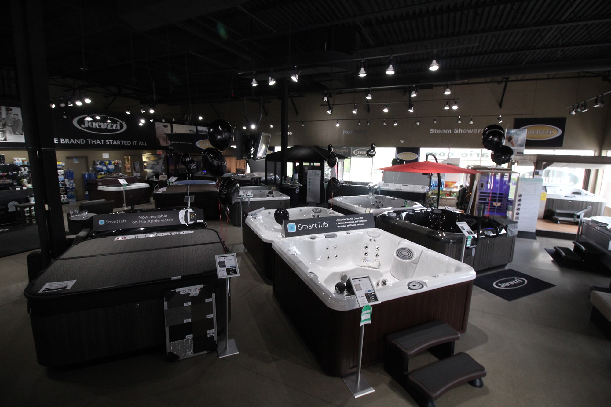 Jacuzzi Hot Tubs Vaughan Showroom