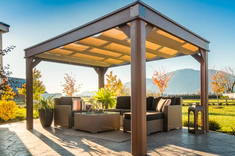 Lugano visscher gazebo in Ontario