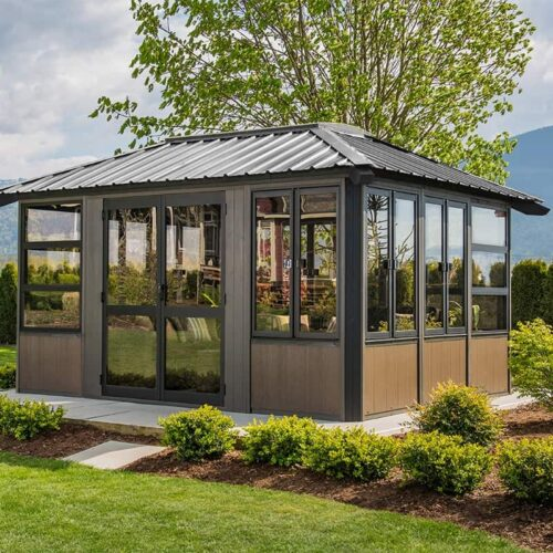 Visscher Stoneham Gazebo in Ontario