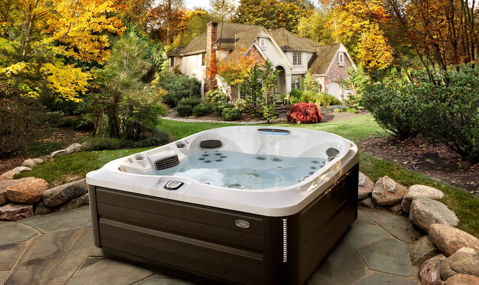 J-485 Jacuzzi Hot Tub Installation in Ontario