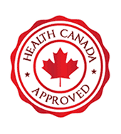 Health Canada Approved Badge